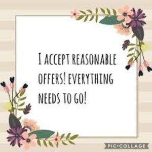 Reasonable offers taken.